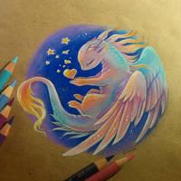 Heart of stars by AlviaAlcedo