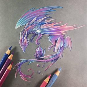 Amethyst fairy dragon