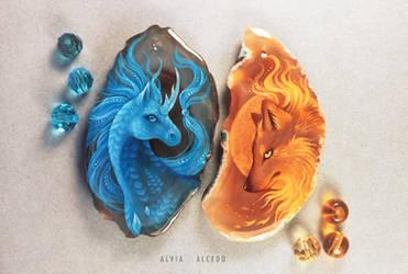 Ice or Fire? by AlviaAlcedo
