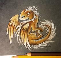 Little golden one by AlviaAlcedo