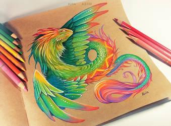 Quetzalcoatl by AlviaAlcedo