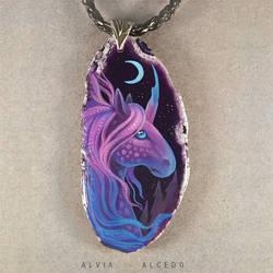 Moon unicorn