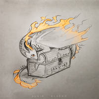 Dragon treasures by AlviaAlcedo