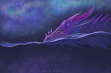 Stellar ocean by AlviaAlcedo