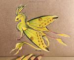 Comet moth dragon