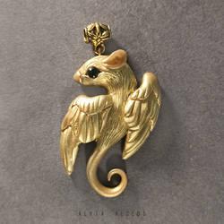 Golden rat by AlviaAlcedo
