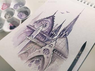 Notre Dame by AlviaAlcedo