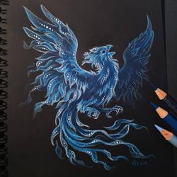 Phoenix patronus by AlviaAlcedo