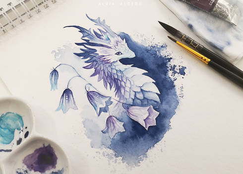 Bellflower dragon