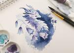 Bellflower dragon