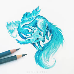 Fox spirit by AlviaAlcedo