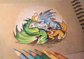 Dragon cuddle