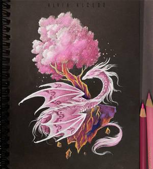 Sakura tree guardian