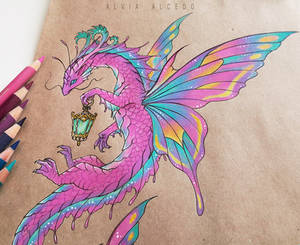 Fairy water dragon