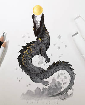 Celestial  crocodile