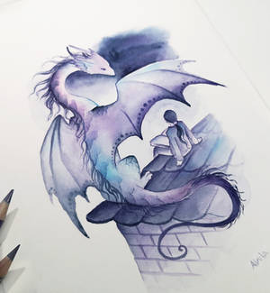 Dragon and a child