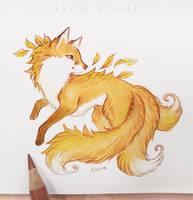 Autumn kitsune