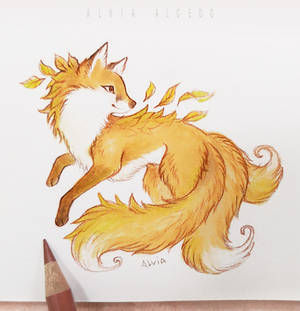 Autumn kitsune