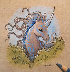 Mysterious horse