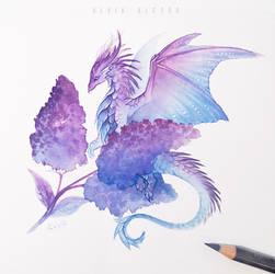 Lilac dragoness