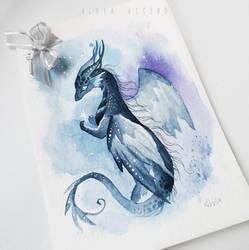 Greeting card dragon