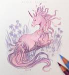 Flower unicorn