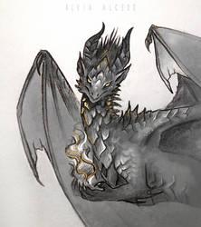 Drak dragon sketch