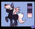 Bat Pony Adoptable - CLOSED