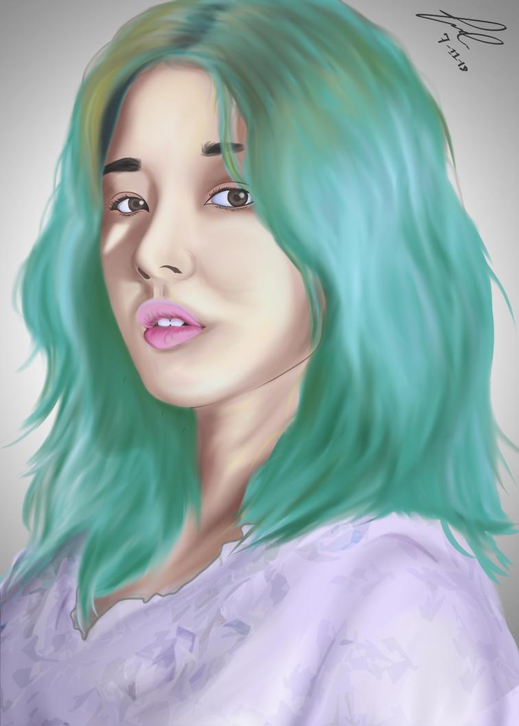 Nancy Momoland - Digital Speed Paint by jezreelian10