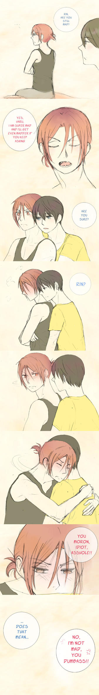 RinxHaru - Are you mad? by Pleionne
