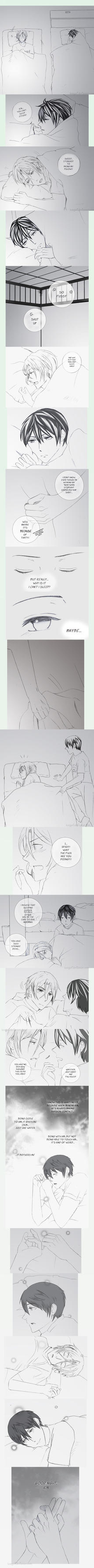 RinHaru - Goodnight, Rin by Pleionne