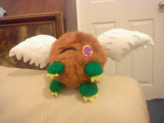 Winking Winged Kuriboh by pharaohyamifan