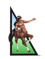 Centaur by moondragonwings