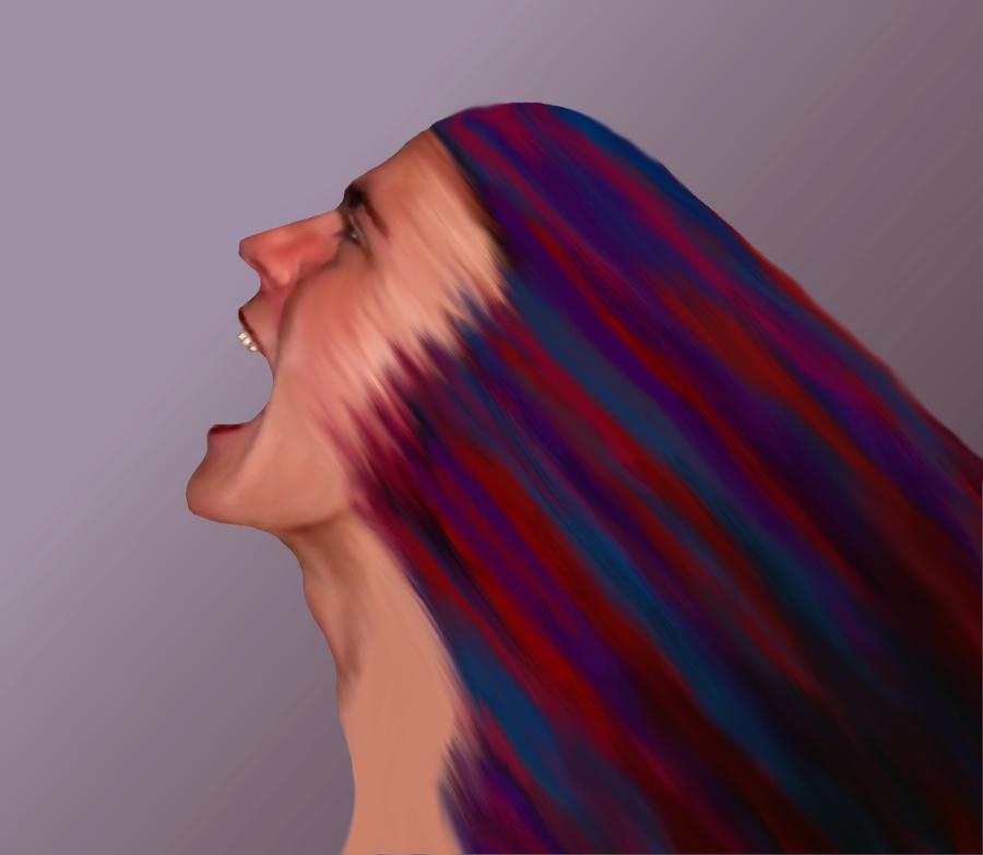 Scream by moondragonwings