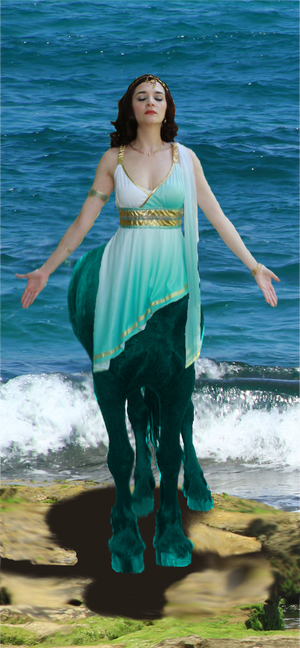 Centaur Goddess