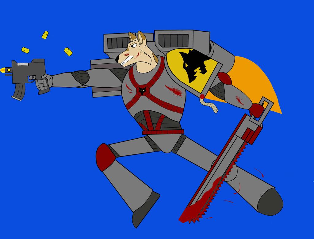 Warhammer Space Wolves by Irish-John