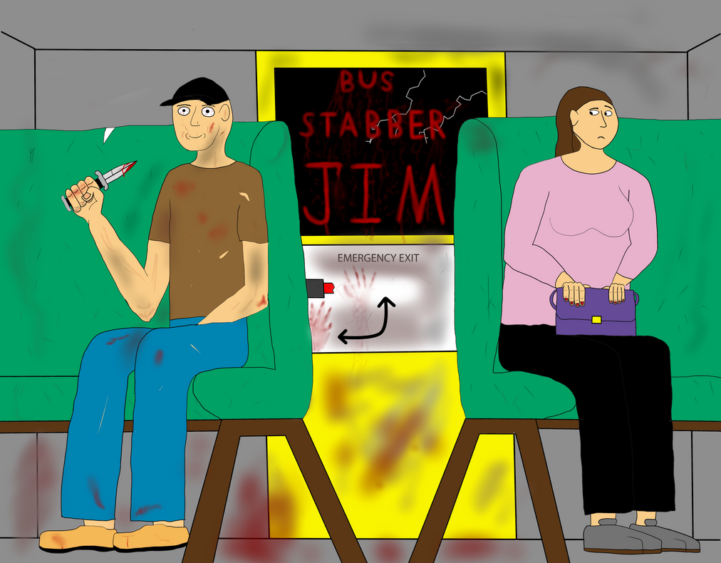 Bus Stabber Jim by Irish-John