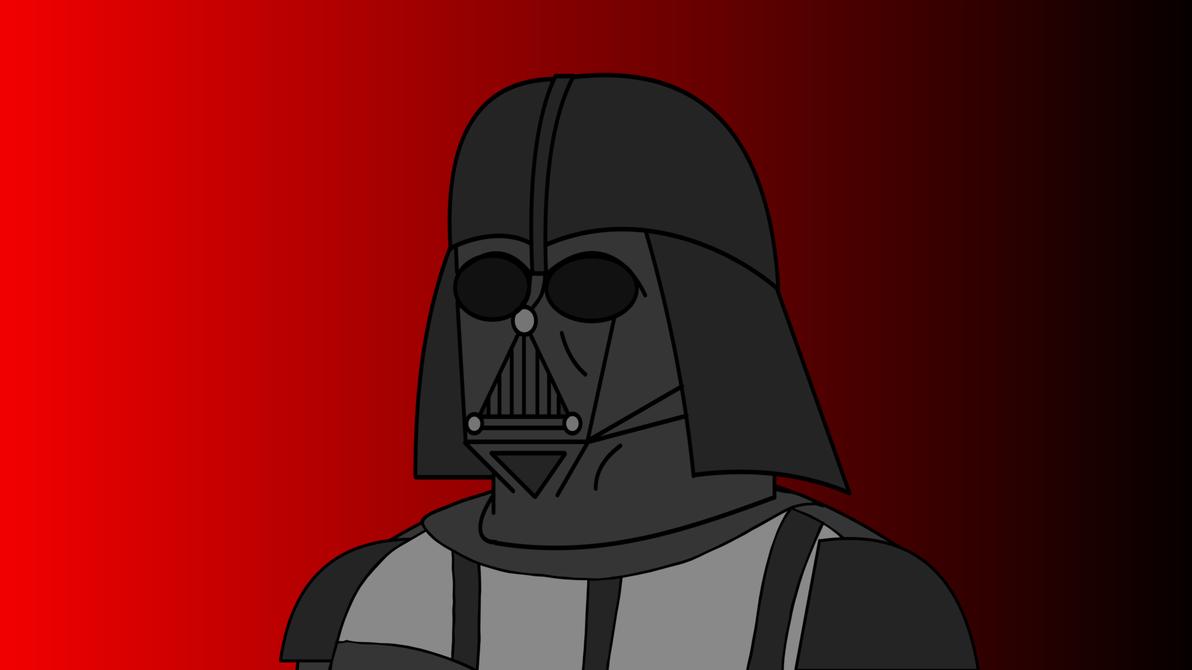 Vader Head by Irish-John