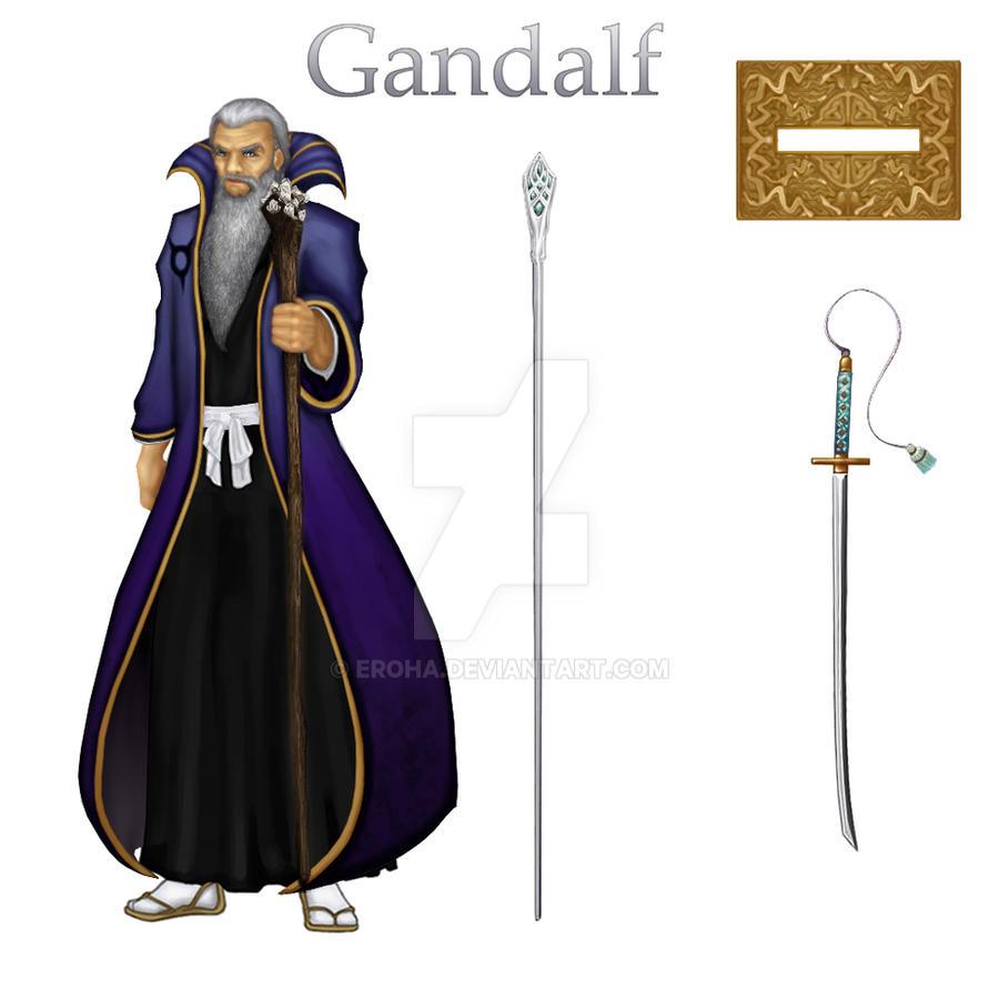 Gandalf Shinigami by Eroha