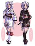 OC: Kyouka and Yume