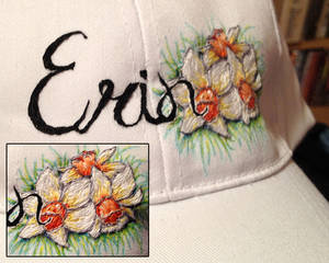Erin Hat Embroidery
