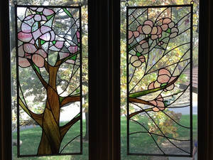 Stained Glass: Cherry Blossoms [Late Summer]