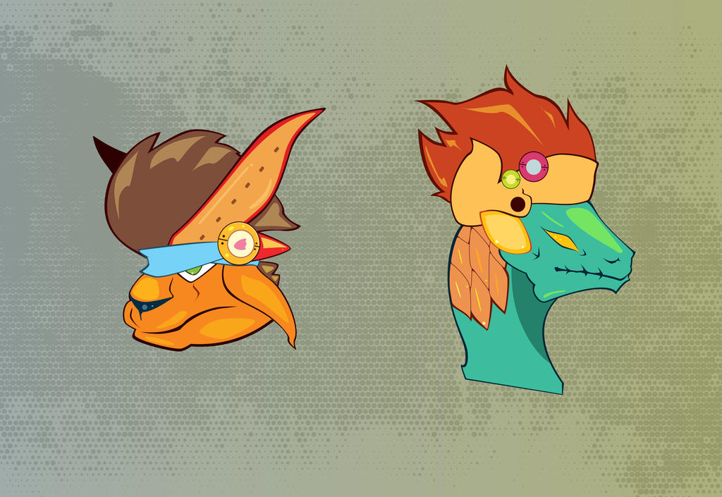 Heads by Zonkpunch