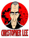 Christopher Lee Caricature