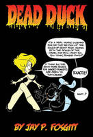 DEAD DUCK GRAPHIC NOVEL ART by JayFosgitt