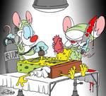 Pinky Brain and Bob 1 by JayFosgitt