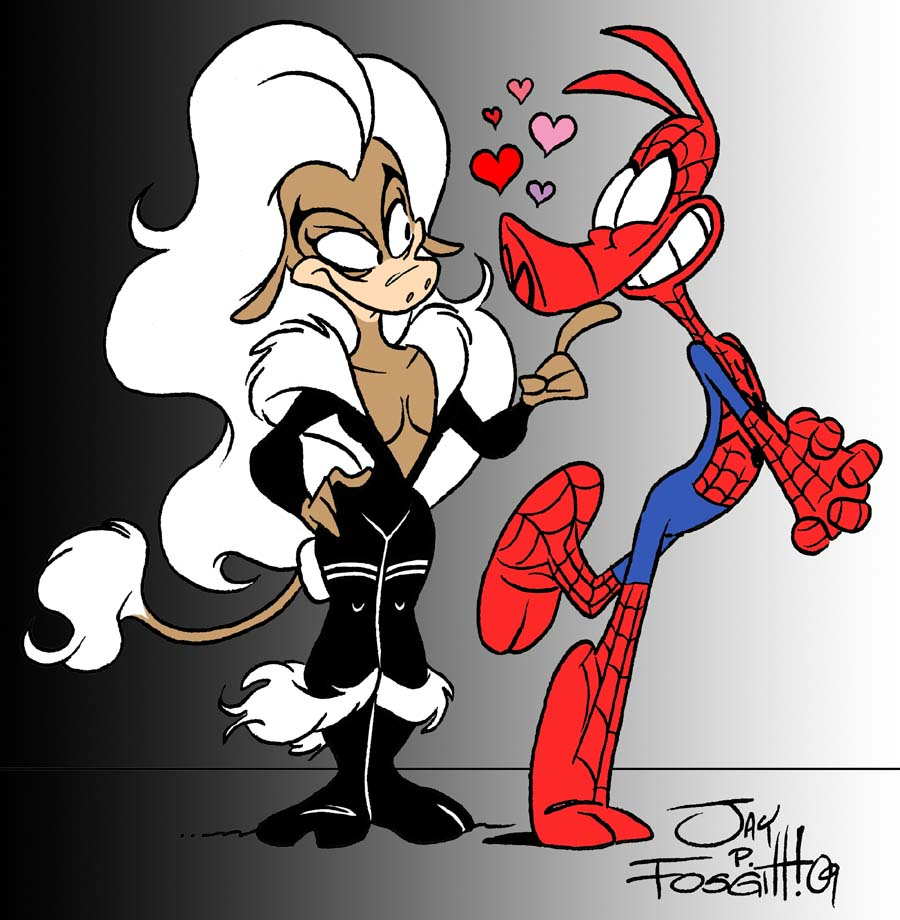 Spider-Ham and The Black Calf by JayFosgitt
