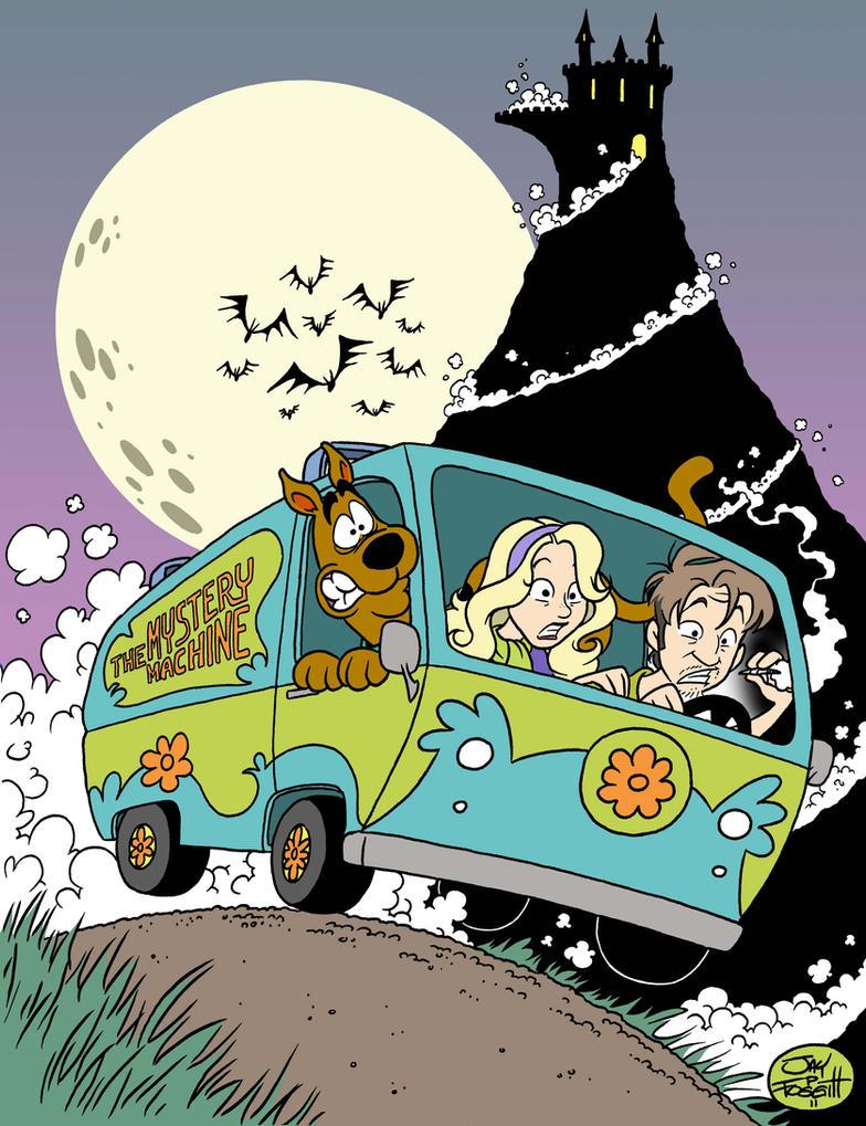 Beautiful Wallpaper Halloween Scooby Doo - scooby_doo_commish_by_fourpanelhero-d45uv2j  HD_59937.jpg