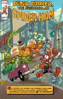 SPIDER-HAM COVER by JayFosgitt