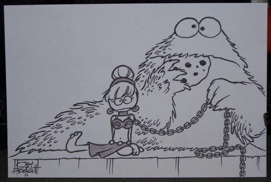 Cookie the Hutt by JayFosgitt